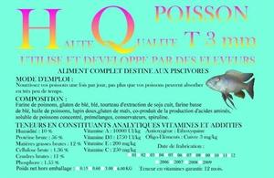 Image de Granulé HQ  poisson T3